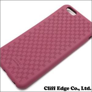 (新品) GUCCI グッチ バイオプラスチック iPhone6 Plus ケース DUSTY ROSE 273-000070-013 (グッズ)|cliffedge