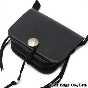 goro's(ゴローズ) スクエア型 レザーポーチ 小 BLACK 274-000885-011+【新品】 (グッズ)|cliffedge