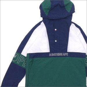 A BATHING APE (エイプ) COLOR BLOCK PULLOVER HOODIE JACKET (ジャケット) 230-000960-037-【新品】 (OUTER)