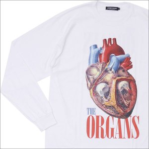 UNDERCOVER(アンダーカバー)  THE ORGANS L/S TEE (長袖Tシャツ)  WHITE 202-000869-050x【新品】(TOPS)|cliffedge