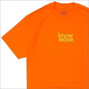 Know Wave(ノーウェーブ)  Balanced Tee (Tシャツ)  ORANGE 200...