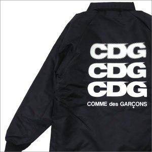 COMME des GARCONS(コムデギャルソン) x D&DEPARTMENT BOA COACH JACKET (コーチジャケット) BLACK 225-000323-041x【新品】(OUTER)|cliffedge