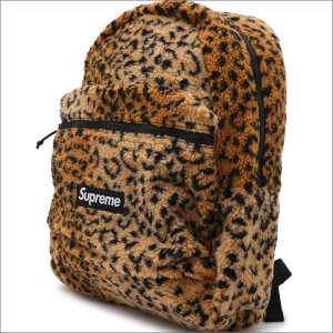 SUPREME(シュプリーム) Leopard Fleece Backpack (バックパック) YELLOW 276-000274-018+【新品】(グッズ)|cliffedge