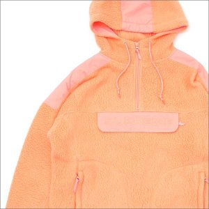 SUPREME(シュプリーム) Polartec Hooded Half Zip Pullover (ジャケット) PEACH 230-001047-053+【新品】(OUTER)|cliffedge