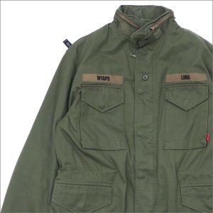 WTAPS (ダブルタップス) M-65 JACKET (ジャケット) 172GWDT-JKM02 OD 230-001055-055-【新品】(OUTER)|cliffedge
