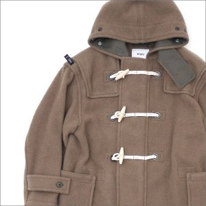 WTAPS (ダブルタップス) STRAITS COAT (ダッフルコート) 172GWDT-JKM06 GREIGE 230-001056-049-【新品】(OUTER)|cliffedge