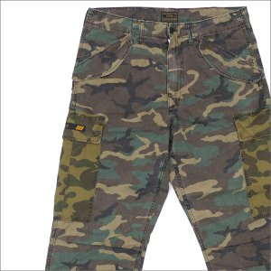 WTAPS (ダブルタップス) x A BATHING APE (エイプ) CARGO TROUSERS (カーゴパンツ) 172GWAPD-PTM01S CAMOUFLAGE 241-000095-055-【新品】(パンツ)|cliffedge
