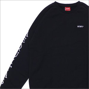 WTAPS (ダブルタップス) V=A CREW SWEAT (スウェット) 172ATDT-CP01S BLACK 209-000504-031-【新品】(SWT/HOODY)|cliffedge