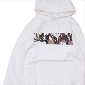 SUPREME(シュプリーム) 40 oz. Hooded Sweatshirt (スウェットパーカー) WHITE 418-000083-050+【新品】(SWT/HOODY) cliffedge