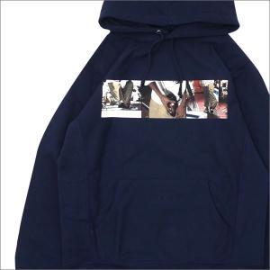 SUPREME(シュプリーム) 40 oz. Hooded Sweatshirt (スウェットパーカー) NAVY 418-000083-047+【新品】(SWT/HOODY) cliffedge