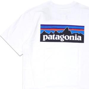 新品 パタゴニア Patagonia M's P-6 Logo Responsibili T-Shi...