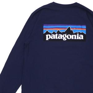 新品 パタゴニア Patagonia M's L/S P-6 Logo Responsibili T...