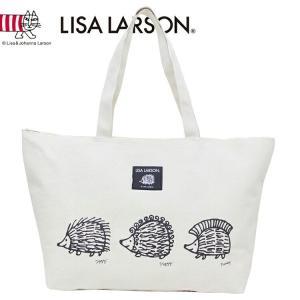 LISA LARSON リサラーソン ハリネズミ3兄弟 ビッグトートバッグ 内ポケット付|climb-f