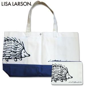 【送料無料】LISA LARSON リサラーソン ハリネズミ イギー トートバッグ ポーチ付|climb-f