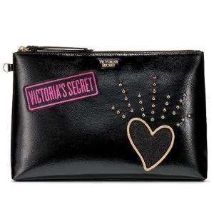 【送料無料】VICTORIA'S SECRET Patch Pouch ヴィクトリアシークレット ポ...