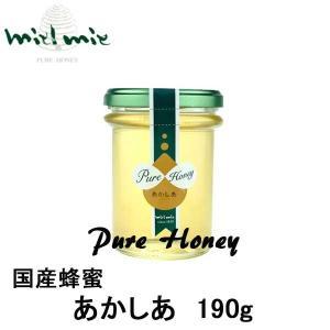 miel mie 国産「あかしあ」蜂蜜190g ギフト|climb-store