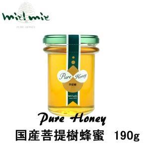 miel mie 国産「菩提樹」蜂蜜190g ギフト|climb-store