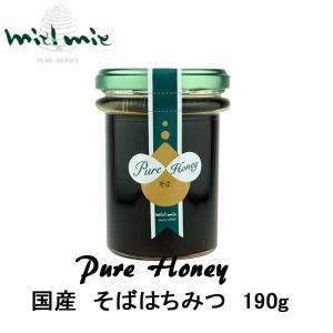 miel mie 国産「そば」蜂蜜190g ギフト|climb-store
