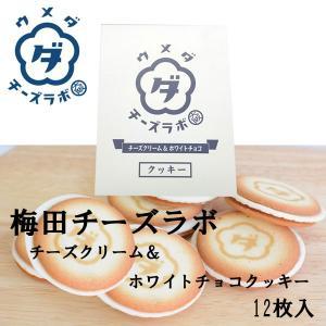梅田チーズラボ チーズクリーム&ホワイトチョコクッキー 12枚|climb-store