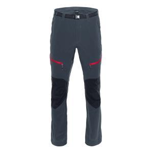 [テルヌア]High Points Pants ソフトシェルパンツ(Whales Grey / Black / Red)
