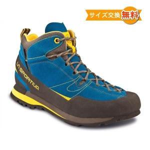 【即納】スポルティバ ボルダーX ミッド GTX (Blue / Yellow)|climbs