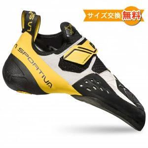 【 即納 】【 セット商品 】 スポルティバ ソリューション ( White / Yellow )  + スポルティバ シューズバッグ climbs