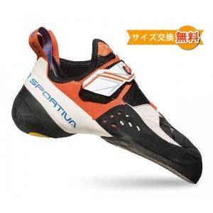 【 即納 】【 セット商品 】 スポルティバ ソリューション ウーマン ( White / Lily Orange )  + スポルティバ シューズバッグ climbs