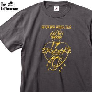 名曲「Gimme Shelter」をモチーフにしたSOFTMACHINEらしいデザインのTシャツ。存...
