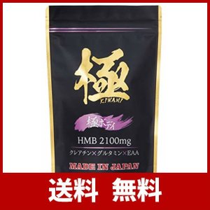 HMB極ボディ HMB + EAA + グルタミン + クレアチン 配合 サプリメント モンドセレク...