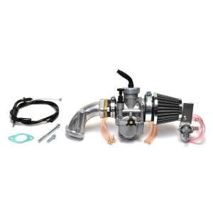 クリッピングポイント製 ビッグキャブ24Φ&クリーナーキット(ビッグバルブヘッド用) 適合:12Vダックス50|clippingpointstore