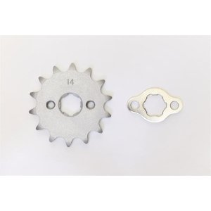 クリッピングポイント製 ドライブスプロケット14T 適合:12Vダックス50|clippingpointstore