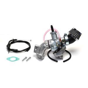 クリッピングポイント製 ビッグキャブ22Φ&クリーナーキット(ビッグバルブヘッド用) 適合:スーパーカブ50(キャブ車)|clippingpointstore