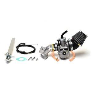 クリッピングポイント製 ビッグキャブ24Φ&クリーナーキット(ビッグバルブヘッド用) 適合:スーパーカブ50(キャブ車)|clippingpointstore