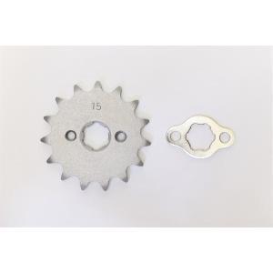 クリッピングポイント製 ドライブスプロケット15T 適合:FIエイプ50|clippingpointstore