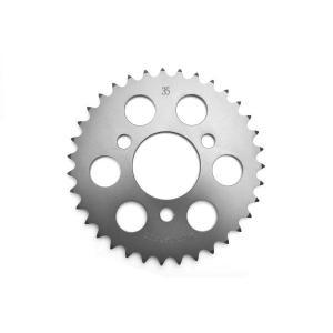 クリッピングポイント製 ジュラルミンリアスプロケット(硬質アルマイト)35T 適合:FIエイプ50TypeD|clippingpointstore