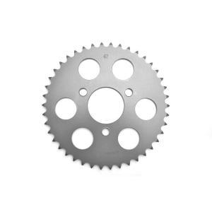クリッピングポイント製 ジュラルミンリアスプロケット(硬質アルマイト)42T 適合:FIエイプ50TypeD|clippingpointstore