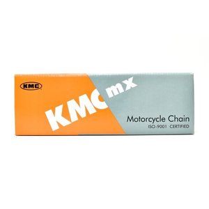 KMC製 ドライブチェーン420DX-100L(シルバー) 適合:FIスーパーカブ110(JA10)|clippingpointstore