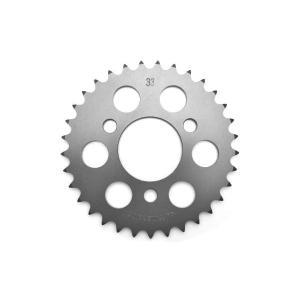 クリッピングポイント製 ジュラルミンリアスプロケット(硬質アルマイト)33T 適合:XR50モタード|clippingpointstore
