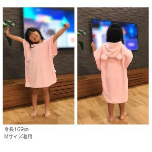 バスローブ ベビー キッズ 赤ちゃんバスローブ バスタオル フード付きバスタオル ポンチョタオル マイクロファイバー キッズバスタオル こどもバスローブ|clivia|06