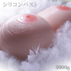 人工乳房 シリコンバスト シリコン 乳房 シリコンパット 女装 msm5000 左右5000g 超特大サイズ|clivia