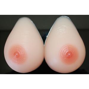msm600 人工乳房 左右600g Bカップ ★ シリコンバスト 人工乳房 シリコンパット 女装にも|clivia