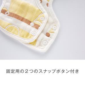 ガーゼスタイ 360度 スタイ よだれかけ   エプロン お食事 かわいい ベビー かわいい  お食事エプロン オシャレ お出かけ 通気性 吸収性 柔らかい 12color|clivia|03