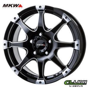 ポイント5倍 MKW MK-76 16x7J+42 114.3x5穴 73.1 ミルド/マシンブラック cllinkwheels