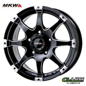 ポイント5倍 MKW MK-76 18x8J+48 150x5穴 110.2 ミルド/マシンブラック cllinkwheels