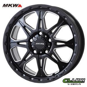 ポイント5倍 MKW MK-66 16x7J+42 114.3x5穴 73.1 ミルドサテンブラック cllinkwheels