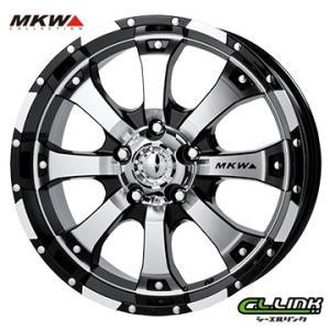 ポイント5倍 MKW MK-46 18x8.5J+53 150x5穴 110.2 ダイヤカットグロスブラック cllinkwheels