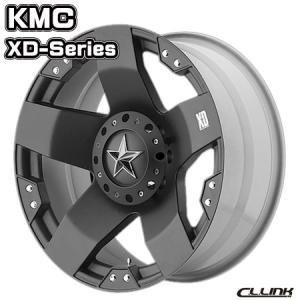 在庫一掃セール KMC XD775 ROCKSTAR 17x9J-12 135/139.7 6穴 マットブラック 送料無料 cllinkwheels