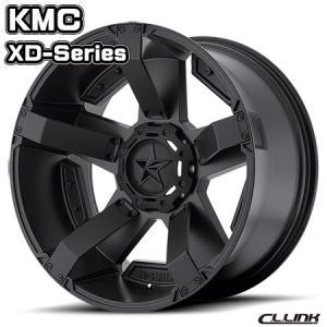 在庫一掃セール KMC XD811 ROCKSTAR2 20x9J+18 135/139.7 6穴 サテンブラックW/アクセント cllinkwheels