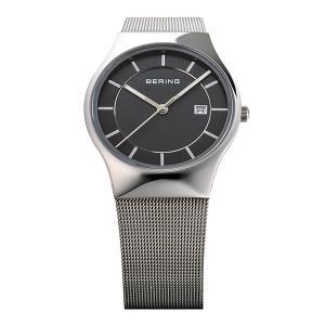 BERING腕時計 ベーリングリストウォッチ  メンズ  Mens Curving Mesh 11938-002