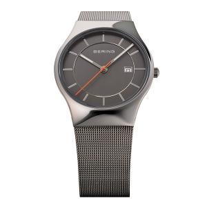 BERING腕時計 ベーリングリストウォッチ  メンズ  Mens Curving Mesh 11938-007